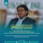Bahtiar Effendy Tutup Usia, Muhammadiyah Berduka
