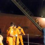 Luar Biasa, Kapal KPLP Gerak Cepat Evakuasi Awak Kapal Asing di Perairan Bitung