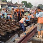 Jalur Ganda Kereta Api Stasiun Geneng-Kedungbanteng Mulai Beroperasi