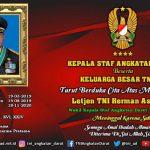 TNI Berduka, Wakasad Letjen Herman Asaribab Tutup Usia
