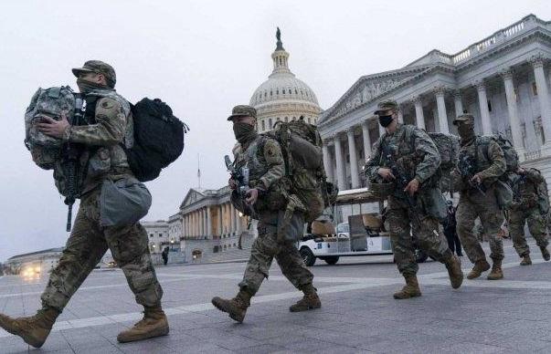 Usai Pengamanan Pelantikan Joe Biden, 150 Tentara Garda Nasional Terpapar Corona