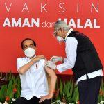 70,4 Juta Vaksin Gratis Telah Distribusikan ke Seluruh Indonesia