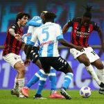 Jamu Napoli, AC Milan Tumbang di Kandang
