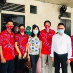 PSMTI Kalbar Bersama Puskesmas Purnama Layani Suntik Vaksin-19 Bagi Lansia