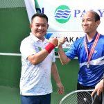 Pangdam Jaya Buka Turnamen Tenis Eksekutif Senior