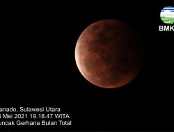Penjelasan BMKG Soal Gerhana Bulan Total