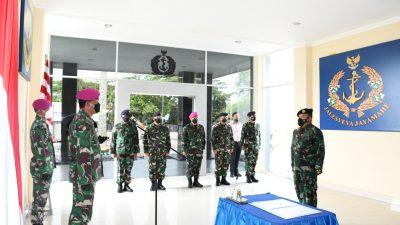 Dipromosi Jabat Seklem AAL, Kolonel Syamsul Rizal Serahkan Jabatan Wadan Lantamal XII