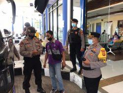 Antisipasi Mudik Lebaran, Polres Badung Gelar Operasi Yustisi Prokes di Terminal Mengwi