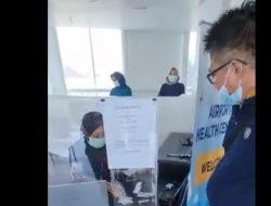 Salah Input Data Hasil Swab Jadi Positif, Pria Ini Ngamuk di Bandara