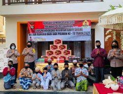 Polwan Peduli, Wakapolres Badung Putu Utari Berbagi Kasih ke Anak Yatim