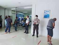 Cegah Terjadinya Gangguan Kamtibmas, Satuan Sabhara Unit Pam Obvit Polresta Denpasar Gelar Patroli Dialogis di Perbankan
