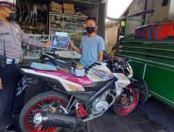 Satlantas Polres Badung Gaspol Sosialisasi Larangan Knalpot Brong