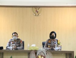 Wakapolres Badung Menerima Kunjungan Tim Wasops Itwasda Polda Bali