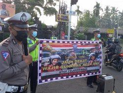 Antisipasi Kecelakaan Lalu Lintas, Ini yang Dilakukan Satlantas Polres Badung