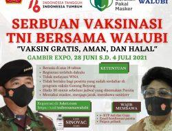 Mulai 28 Juni, Walubi dan TNI Akan Gelar Serbuan Vaksinasi Covid-19 di PRJ