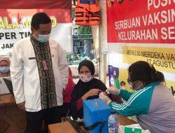Kantor Lurah Semper Timur Buka Pelayanan Vaksinasi Dinamis
