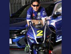 Bantu Masyarakat Terdampak Covid-19, Mantan Pembalap Asal Kalbar Lelang Motor