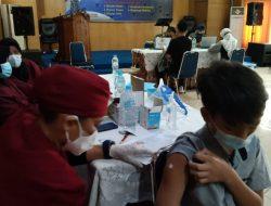 Lantamal XII Gelar Vaksinasi untuk Anak-anak Keluarga Besar TNI