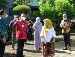 Gubernur Kalbar Monitoring Vaksinasi di SMA Negeri 1 Pontianak