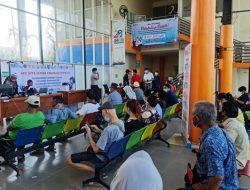 Masyarakat Maritim Pelabuhan Tanjungpandan Gelar Vaksinasi Selama 4 Hari