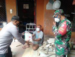 Polri Peduli, Bhabinkamtibmas Desa Bongkasa: Sakit Tidak Melanggar Hukum, Bersifat Alami