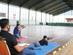 Kasdam Tanjungpura Hadiri Pembukaan Kejuaraan Menembak Perbakin Cup 2021