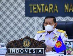 KASAL Ikuti ASEAN Navy Chiefs' Meeting ke-15 Tahun 2021