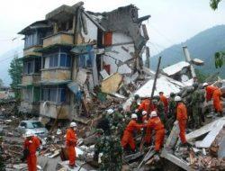 Gempa Magnitudo 6.0 Guncang Sichuan China