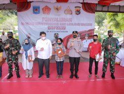 Salurkan BTPKLW Lampaui Target, Menko Airlangga Apresiasi Polresta Mataram