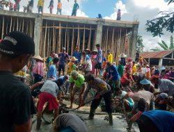 Berbaur Gotong Royong dalam Renovasi Masjid, Aipda Suherman Sosok Polisi Berjiwa Sosial