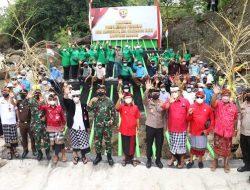 HUT ke-76 TNI, Masyarakat Tangguntiti Terima Hadiah Pompa Hidram