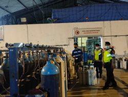 Antisipasi Kelangkaan Oksigen, Satsabhara Polres Badung Sambangi PT Samator