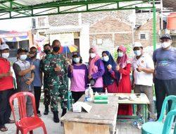 Pangdam Jaya Tinjau Serbuan Vaksinasi di Tigaraksa Tangerang