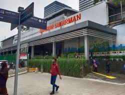 Pamer Alat Vital di Stasiun Sudirman Terekam CCTV